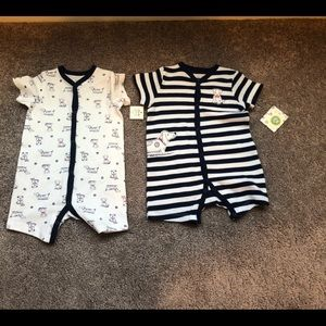 NEW two piece baby romper set 9 months